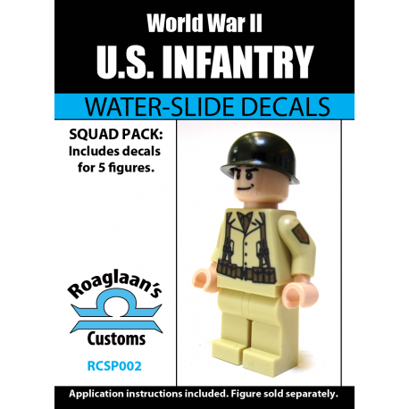WW2 - US Infantry - Decal