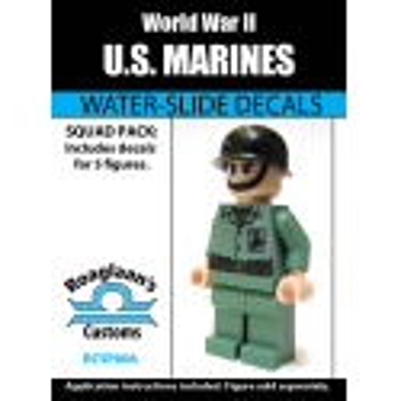 WW2 - US Marines - Decal