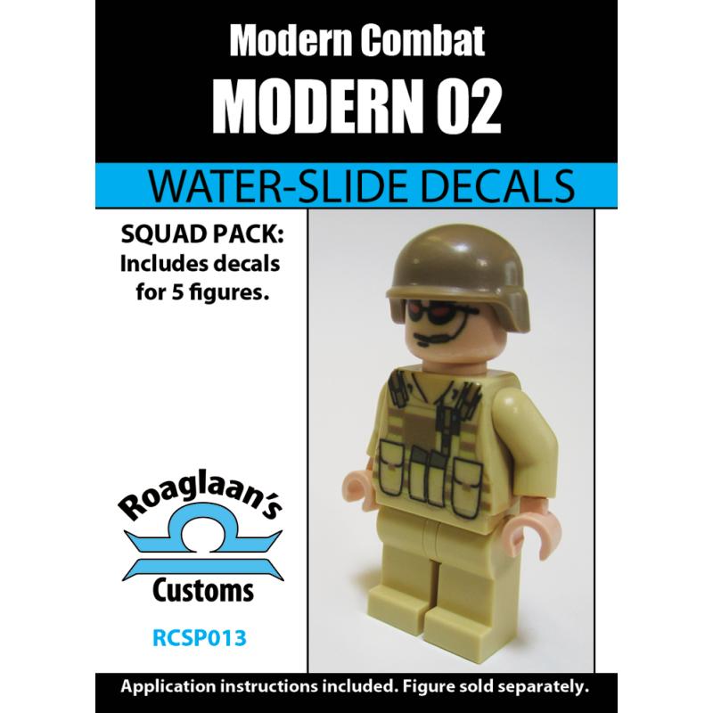 Modern Combat - 02 - Decal