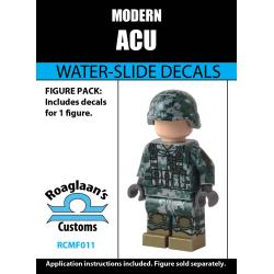 Modern Combat - ACU - Decal