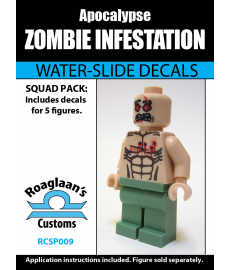 Zombie Infestation - Decal