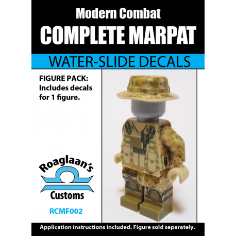 "Modern Combat - USMC ""MarPat"" - Decal"