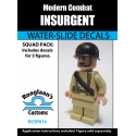 Modern Combat - Insurgent / Rebel - Decal
