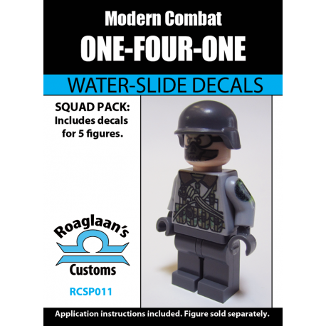 Modern Combat - One-Four-One - Decal