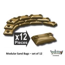 Modulare Sandsäcke