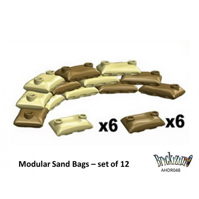 Modular Sand Bags – Desert Camo