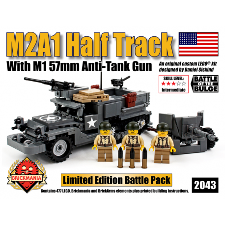 M3A1 Half Track with M1 57mm Anti-Tank canon
