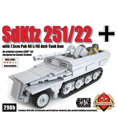 SdKfz 251/22 with Pak 40 L/46 Anti-Tank Gun