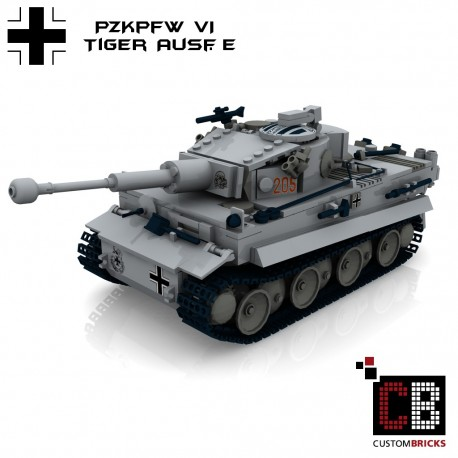 Panzer PzKpfw VI Ausf. E Tiger - Building instructions