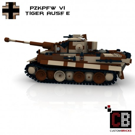 Panzer CAMO PzKpfw VI Ausf. E Tiger - Building instructions