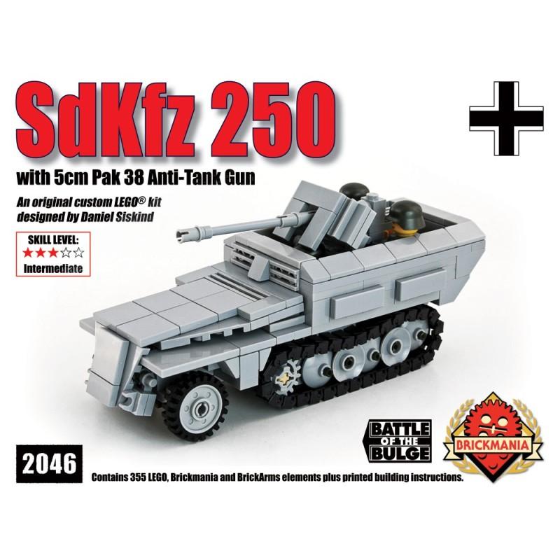 SdKfz 250 mit Pak 38 Anti-Tank Gun
