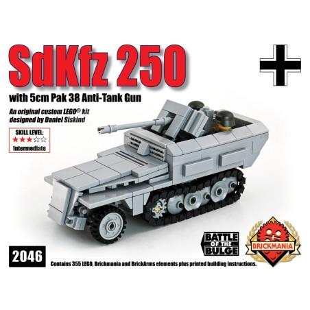 SdKfz 250 with Pak 38 Anti-Tank Gun