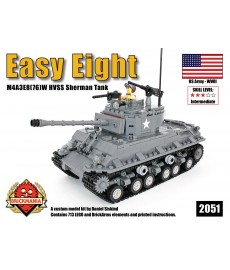 Easy Eight - M4A3E8(76)W Sherman