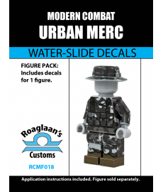 Modern Combat - Urban Camo Mercenary - Decal