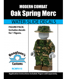 Modern Combat - Oak Spring Mercenary - Decal