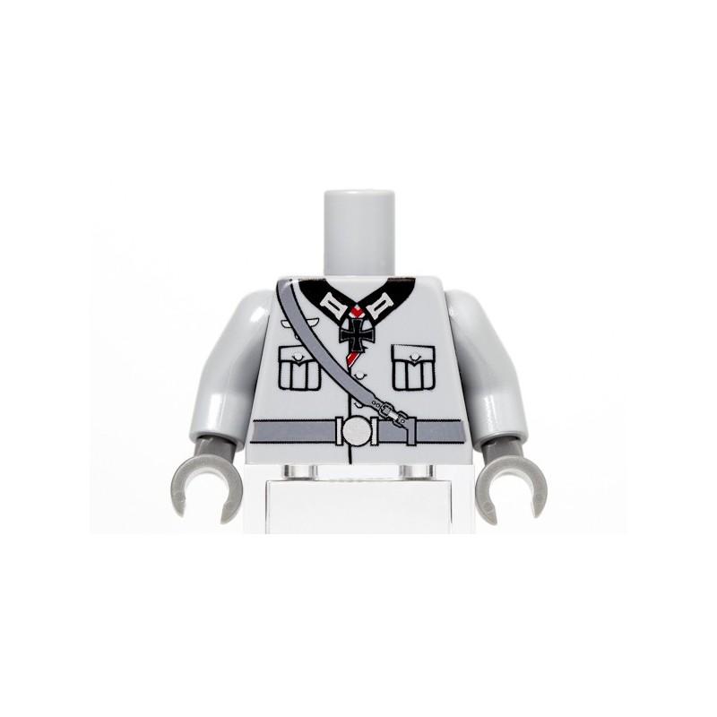 Duitse Oberstleutnant Torso