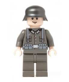 German Infantry Soldier - Dark grey