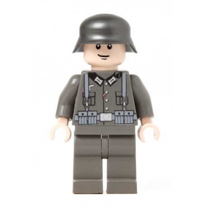 German Infantry Soldier - Dark grey
