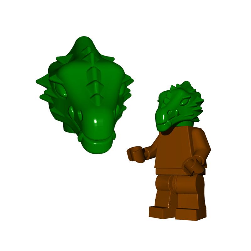 Drachenmann Kopf
