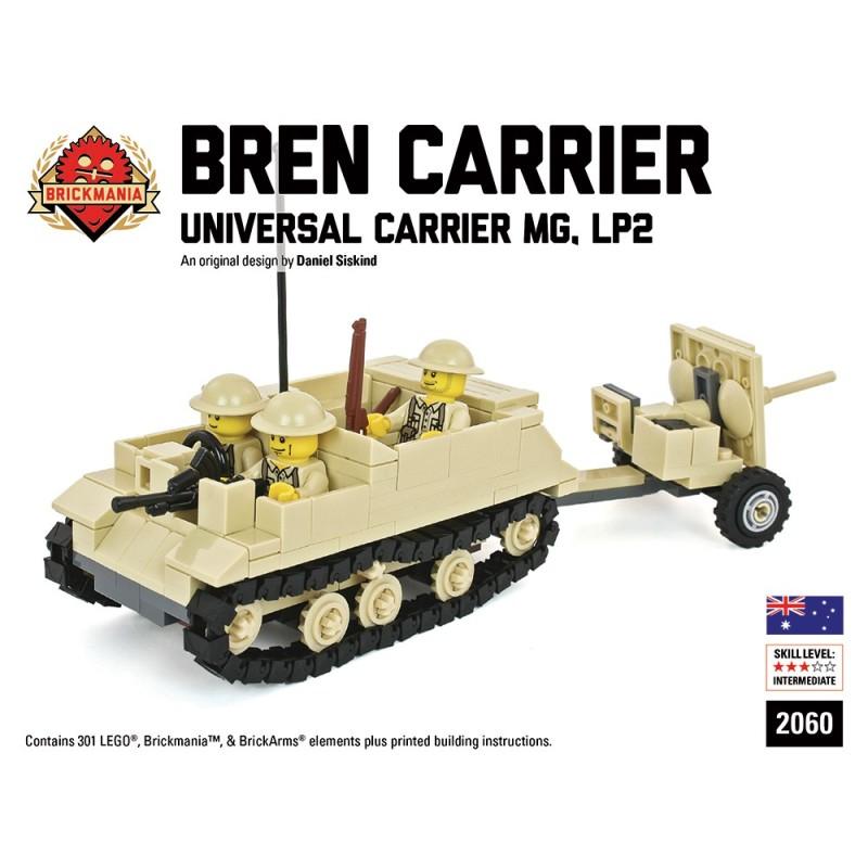 Bren Carrier LP2 with 2 Pounder Anti-Tank Gun
