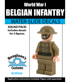 World War I Belgian Infantry