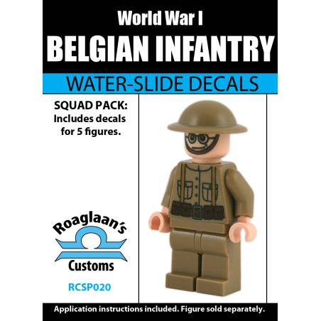 World War I Belgian Infantry