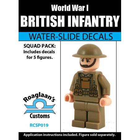 World War I British Infantry
