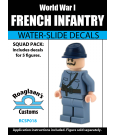 World War I French Infantry