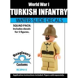 World War I Turkish Infantry