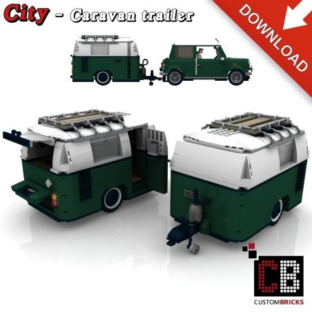 Mini Cooper - Caravan - Bouwinstructies
