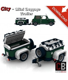 Mini Cooper - Trailer - Building instructions
