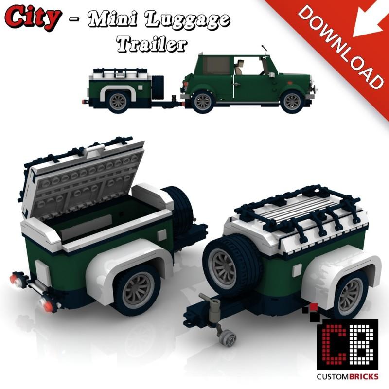 Mini Cooper - Gepäckanhänger - Bauanleitung