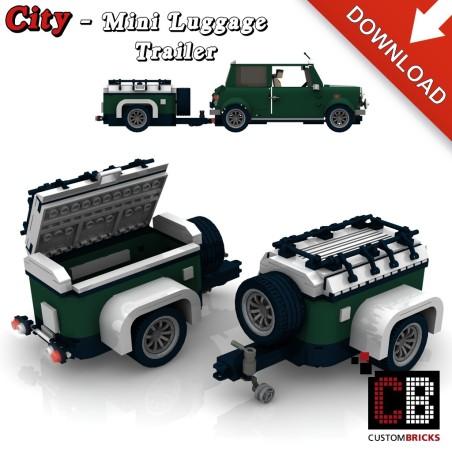 Mini Cooper - Aanhanger - Bouwinstructies