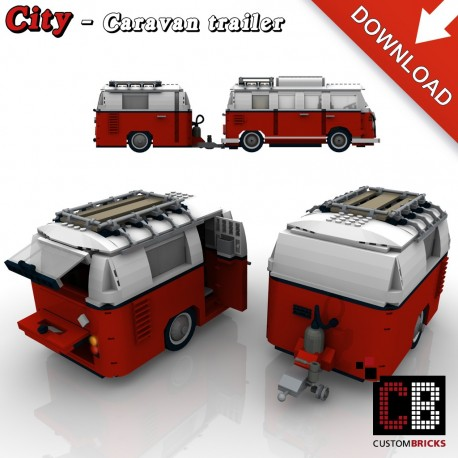 T1 Bus - Caravan - Building instructions