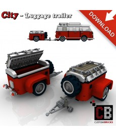 Luggage Trailer - Building instructions