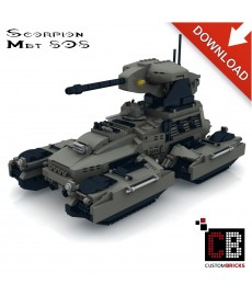UNCS M808 Scorpion Tank - Building instructions