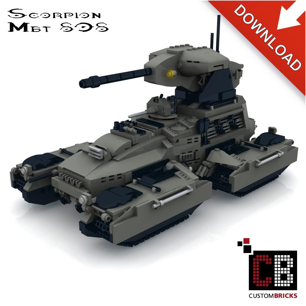 UNCS M808 Scorpion Tank - Building instructions