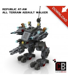 Star Wars All Terrain Assault Walker - Bouwinstructies