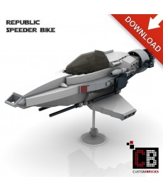 Star Wars Speeder Bike - Bouwinstructies