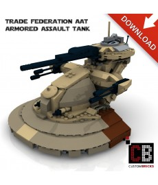 Star Wars Armored Assault Tank - Bouwinstructies