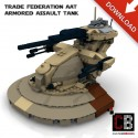 Star Wars Armored Assault Tank - Building instructions