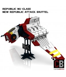 Star Wars Nu Republic Attack Shuttle - Bouwinstructies
