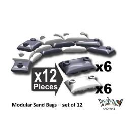 Modulare Sandsäcke - Winter Camo