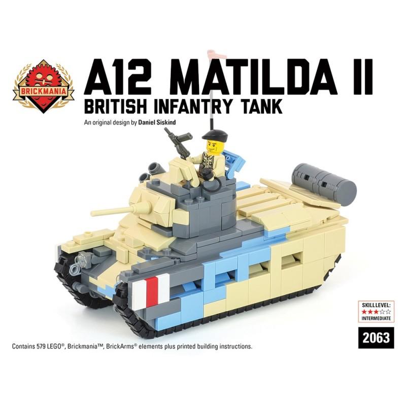 A12 Matilda II - British Infantry Panzer