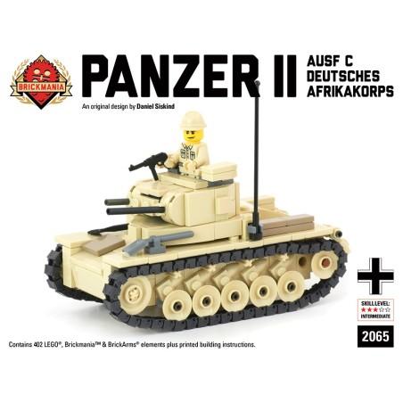 Panzer II Ausf C - Deutsches Afrikakorps