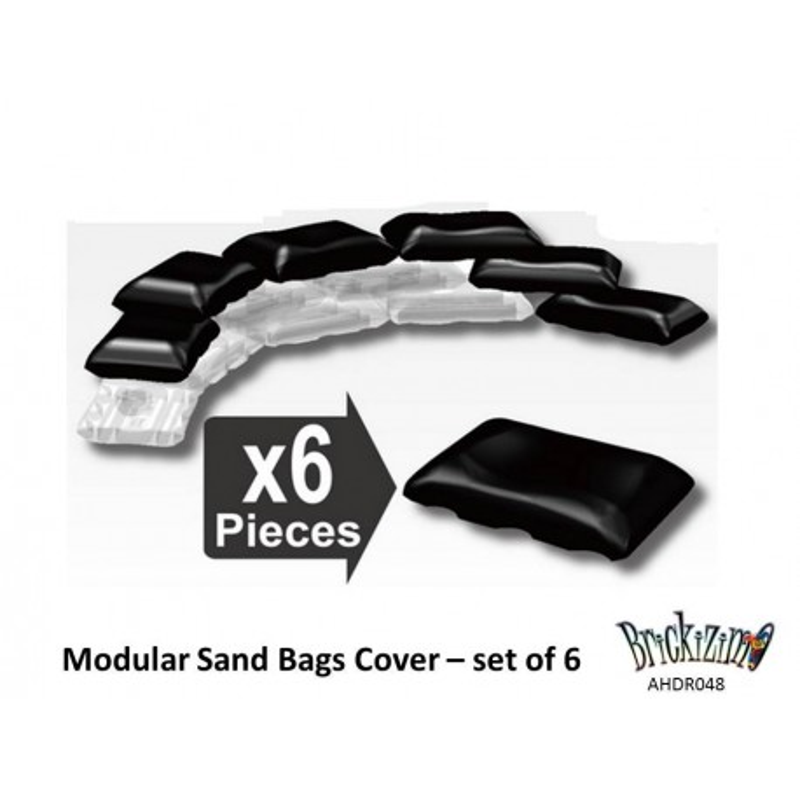 Modulaire zandzakken bedekking - set van 6