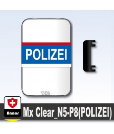 Polizei Bulletproof Shield - Blue
