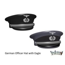 Duitse officiers hoed met Adelaar