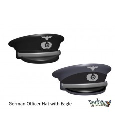 German officer hat with Eagle