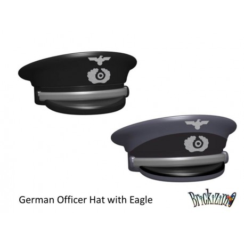 Deutsche Offizier Hut mit Adler